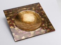Coupe carrée Poudre d'or