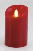 Bougie Pilier Luminara Rouge