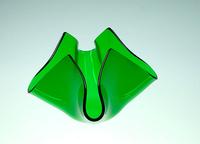 Bougeoir Fleur Vert kiwi